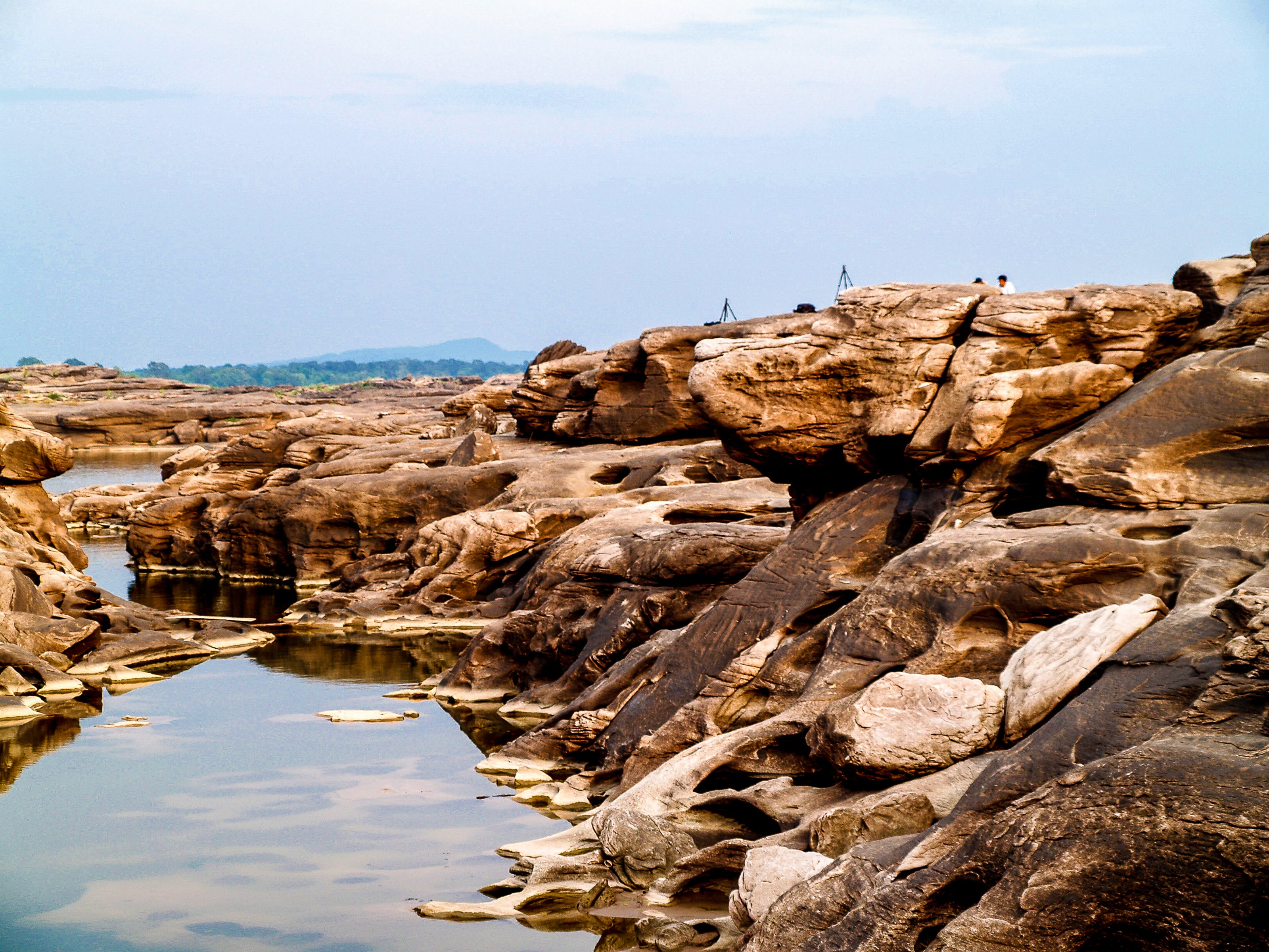 Landscape Photography of Brown Rocks