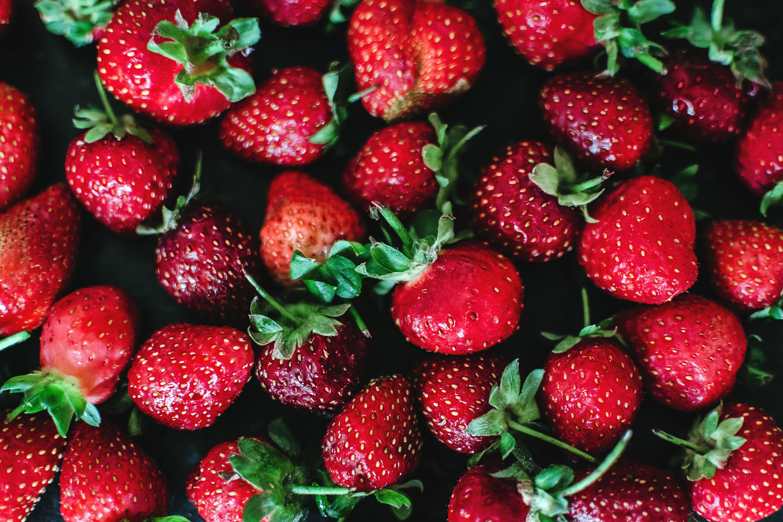 Close-up Photo of Strawberries