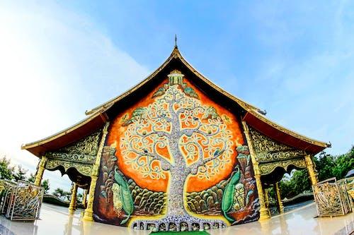 Ilmainen kuvapankkikuva tunnisteilla aasialainen, arkkitehtuuri, buddhalaisuus, Koristeellinen