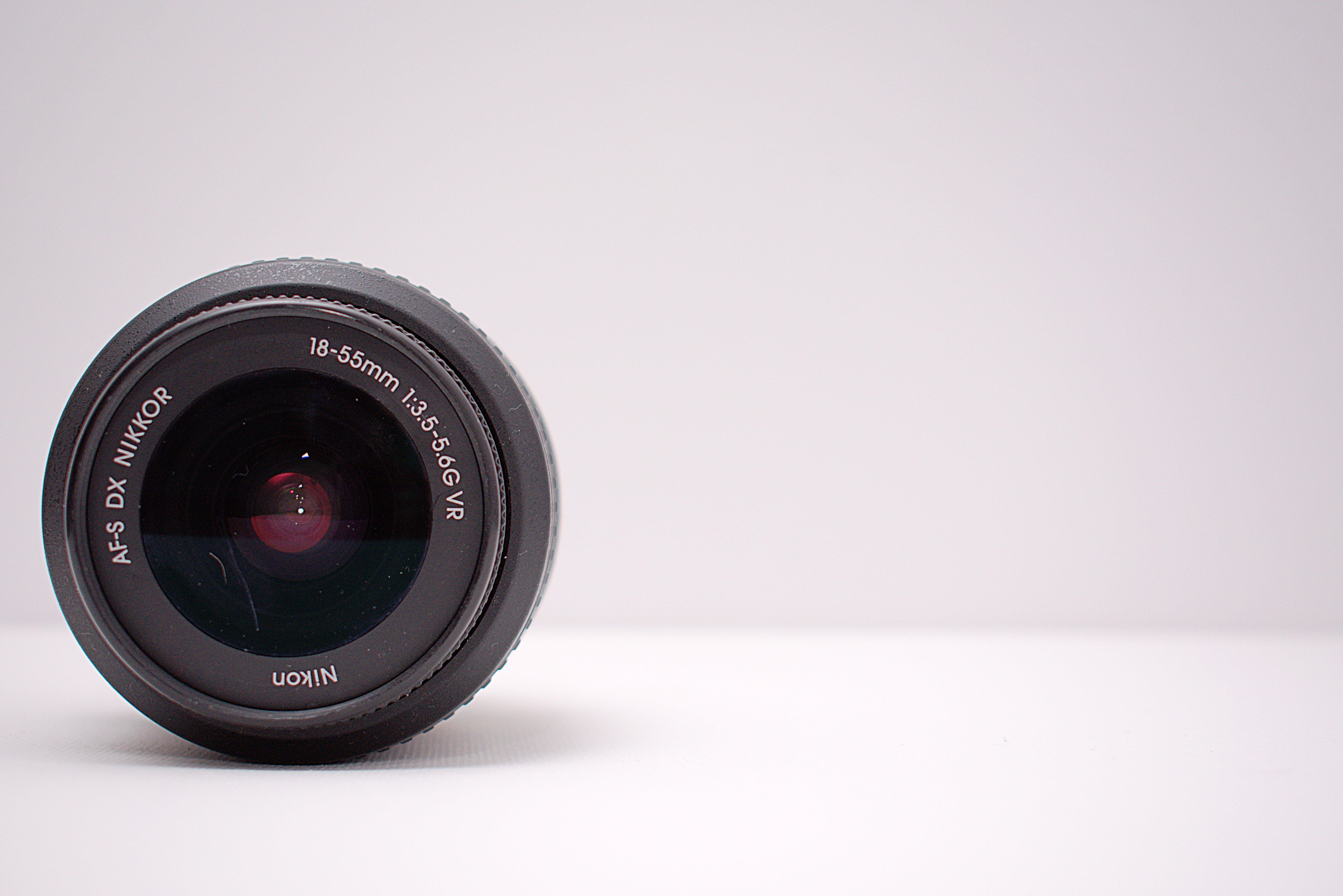 Closeup Photo of Camera Lens