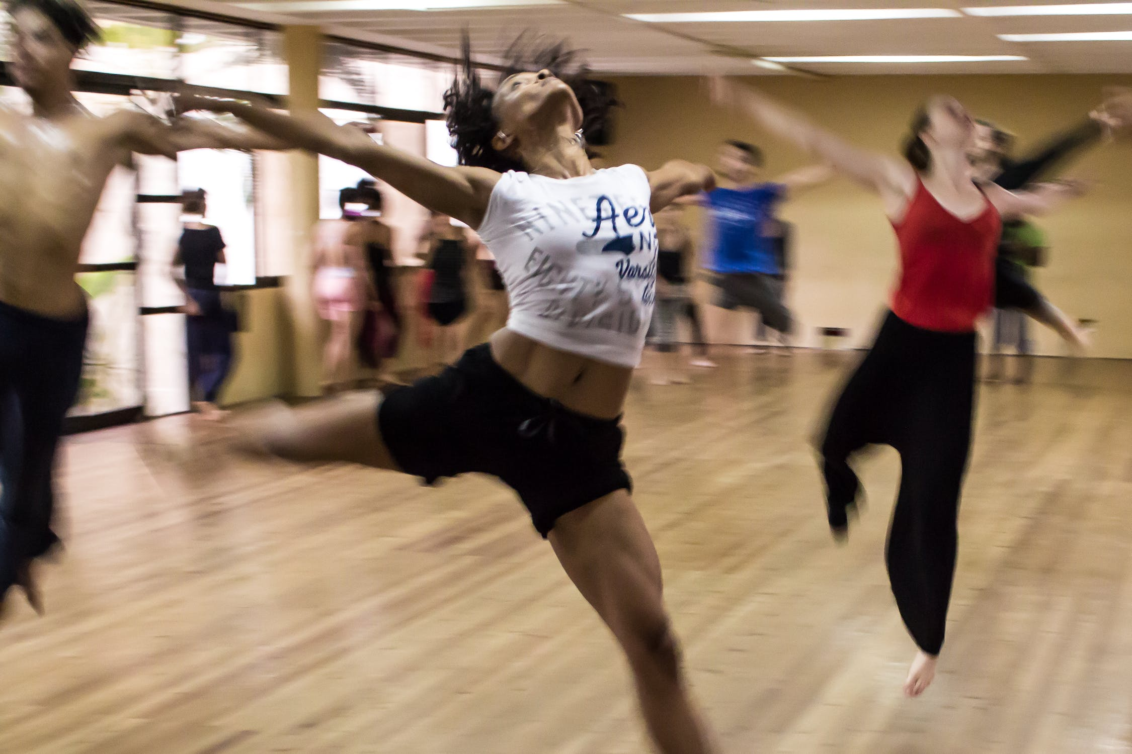 Creative commons image of dancers : Photo by Michael Zittel