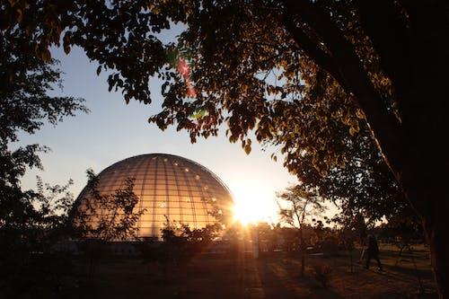 Základová fotografie zdarma na téma kupole, puesta del sol, Sao Paolo, slunce