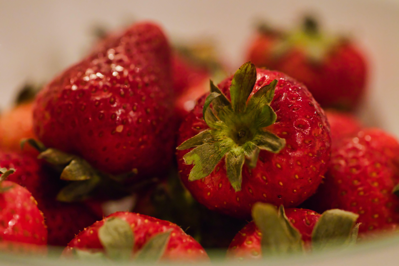 Free stock photo of macro, strawberries, fruit