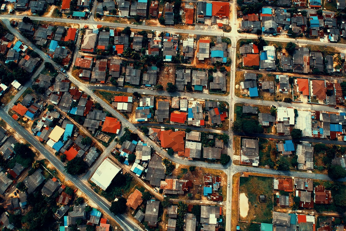 arbres, arquitectura, carrers
