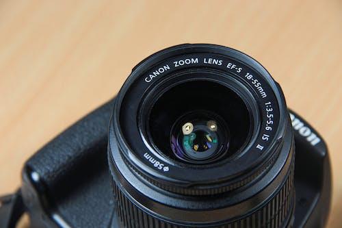 Imagine de stoc gratuită din 18-55, aparat de fotografiat, Canon, DSLR