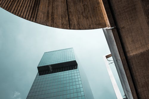 低角度拍攝, 城市, 塔, 天空 的 免费素材照片