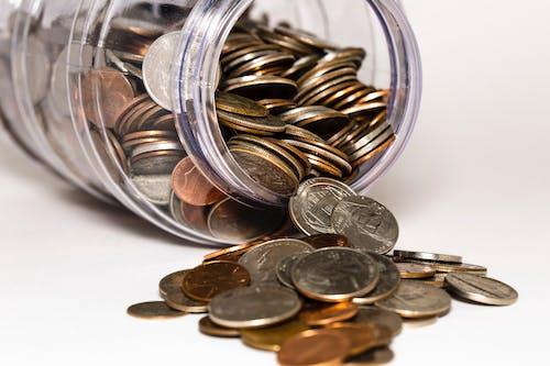 Бесплатное стоковое фото с деньги, монеты, финансы