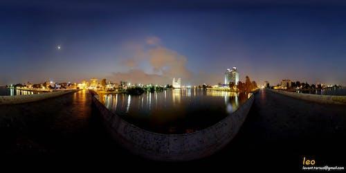 Free stock photo of adana, adana hiltonsa, adana sabancı camii, adana taşköprü gece