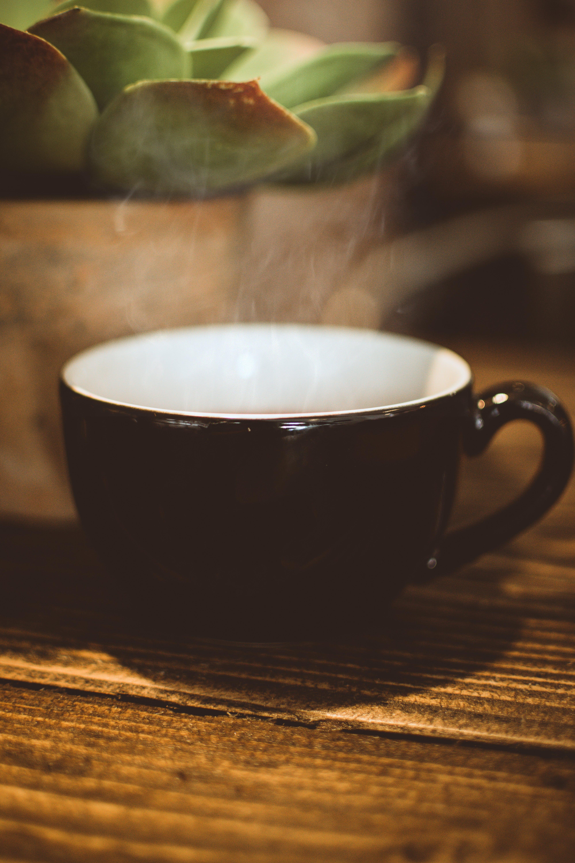 becher, dunkel, espresso