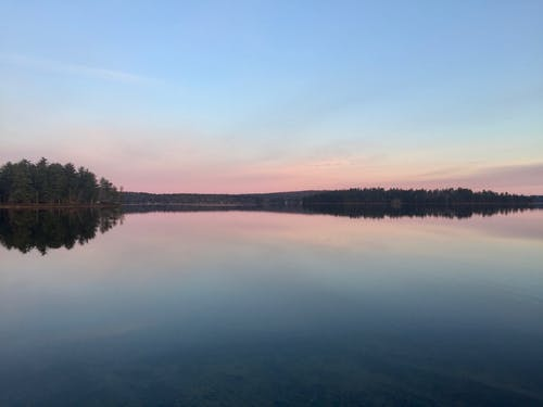 Free stock photo of beautiful sky, calm lake, calm waters