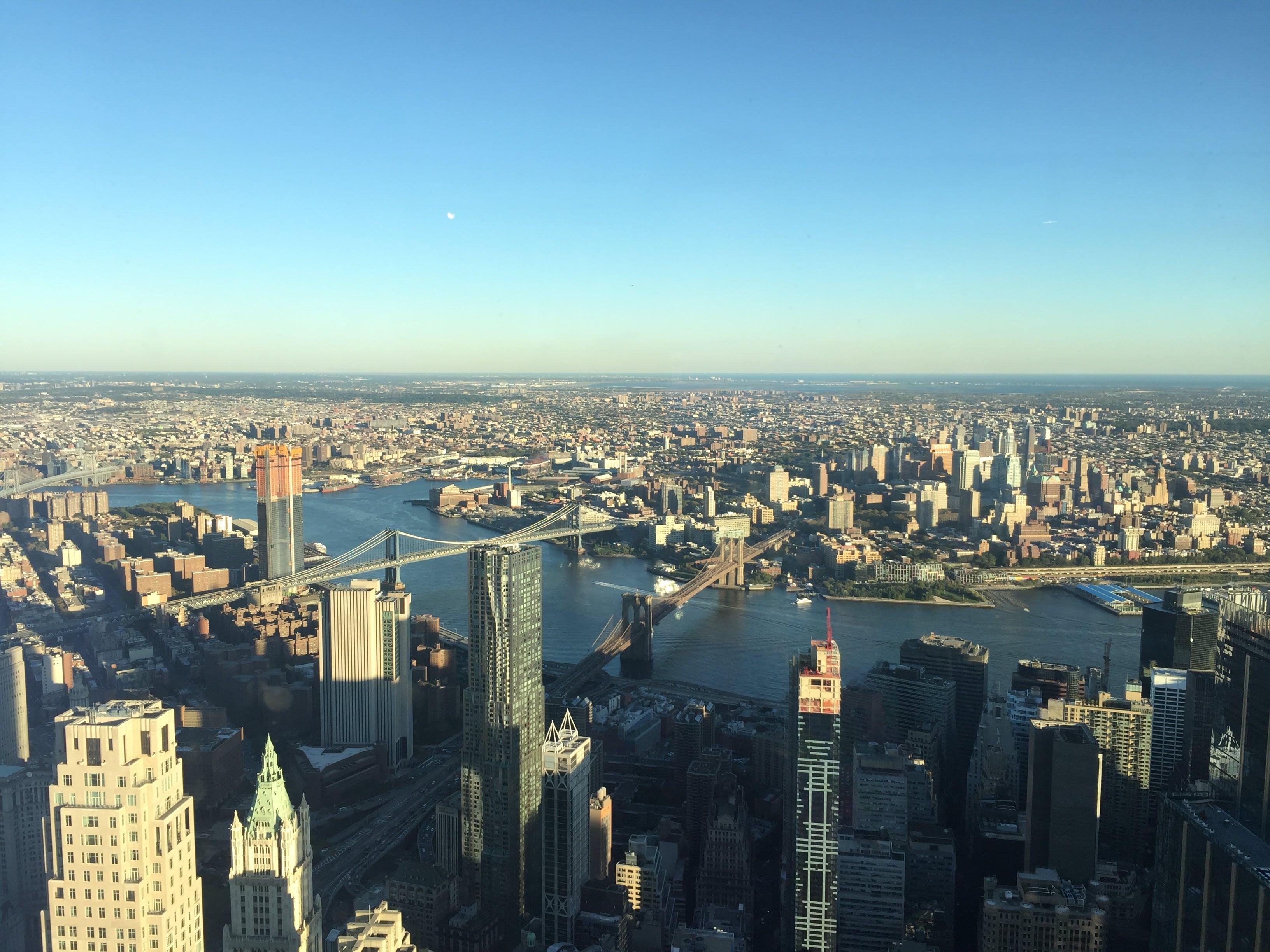 Free stock photo of brooklyn bridge, manhattan, new york city, nyc