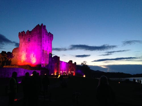 Free stock photo of castle, castle at sunset, castle in ireland