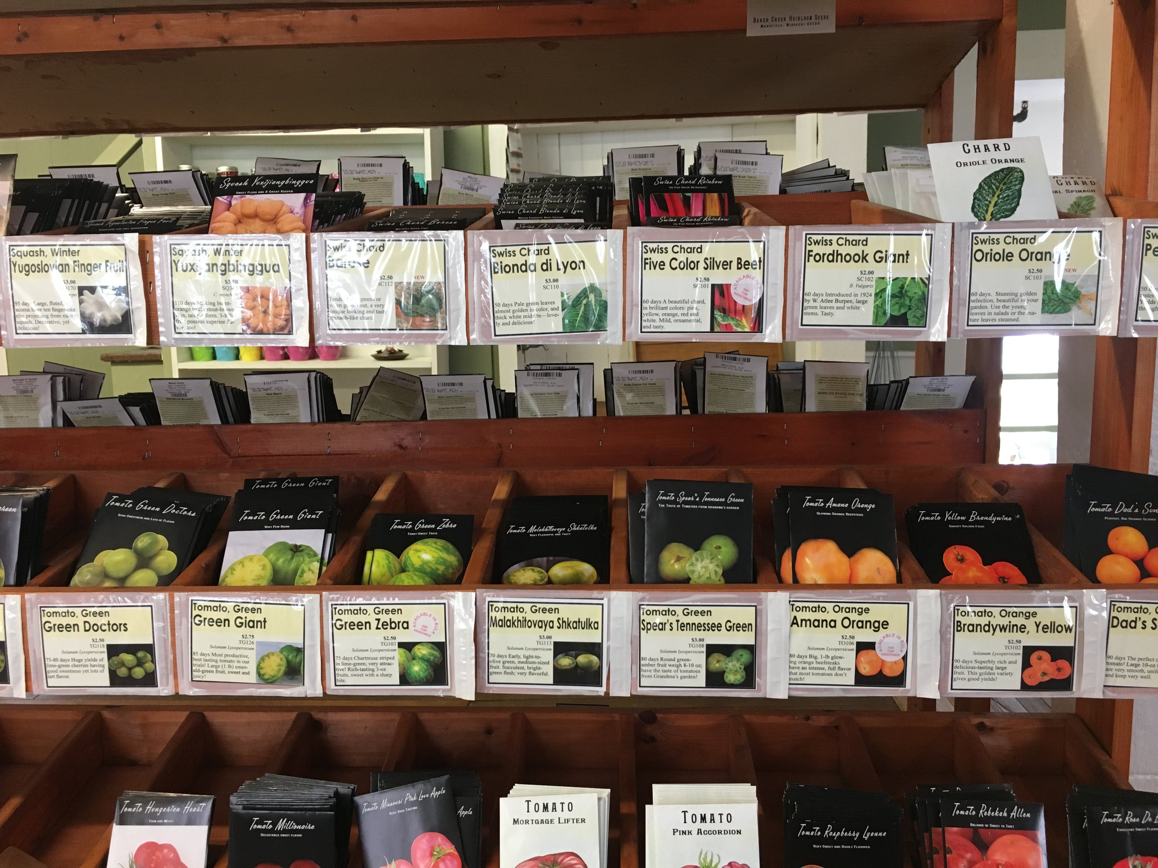 Free stock photo of country store, farmer, gardening, seed packets