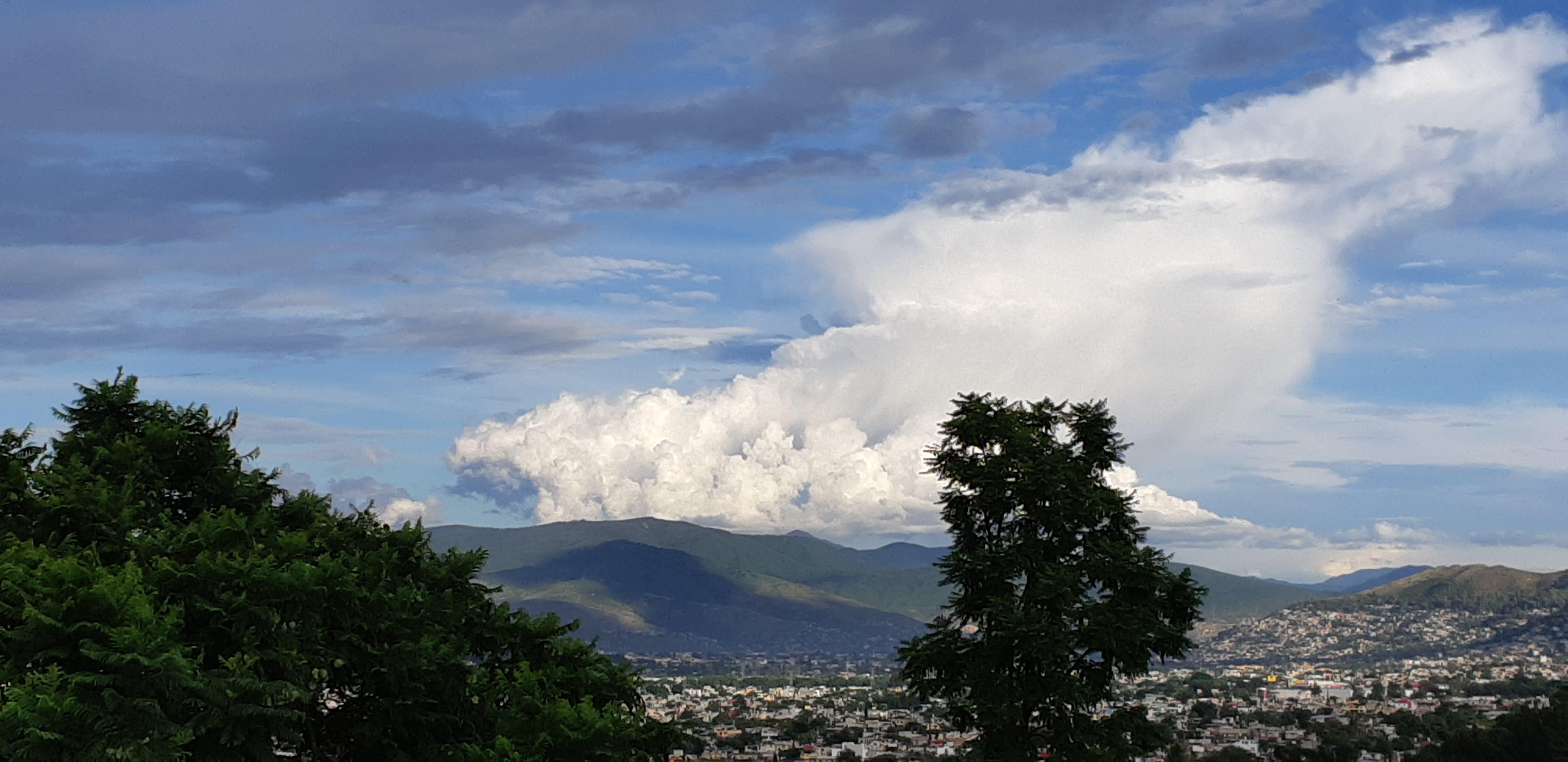 Free stock photo of nube