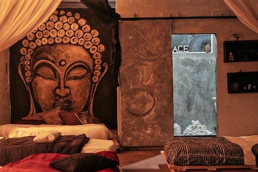 Kostenloses Foto zum Thema: buddha, gemeinsames schlafzimmer ...