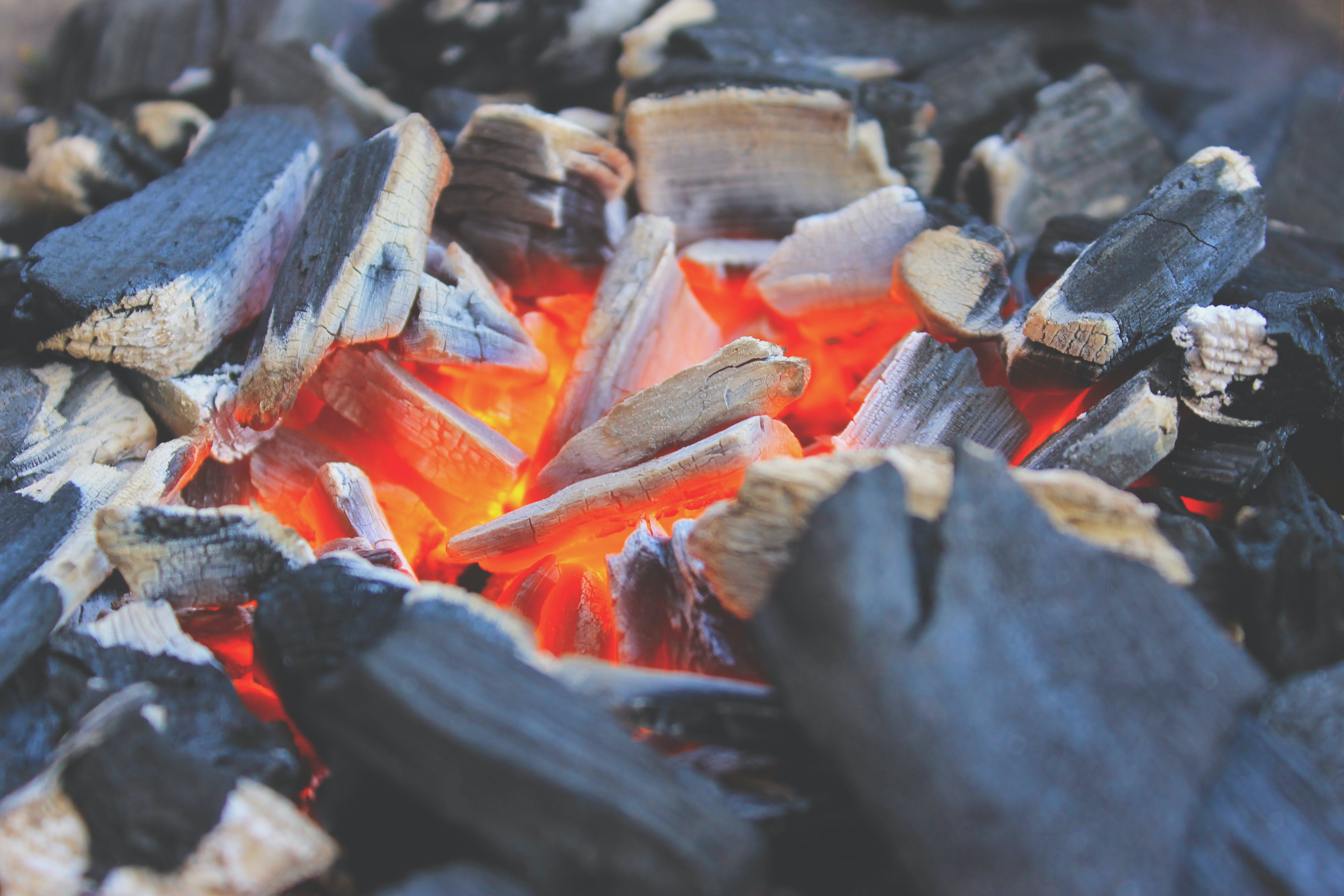Free stock photo of fire, grill, grilling, embers