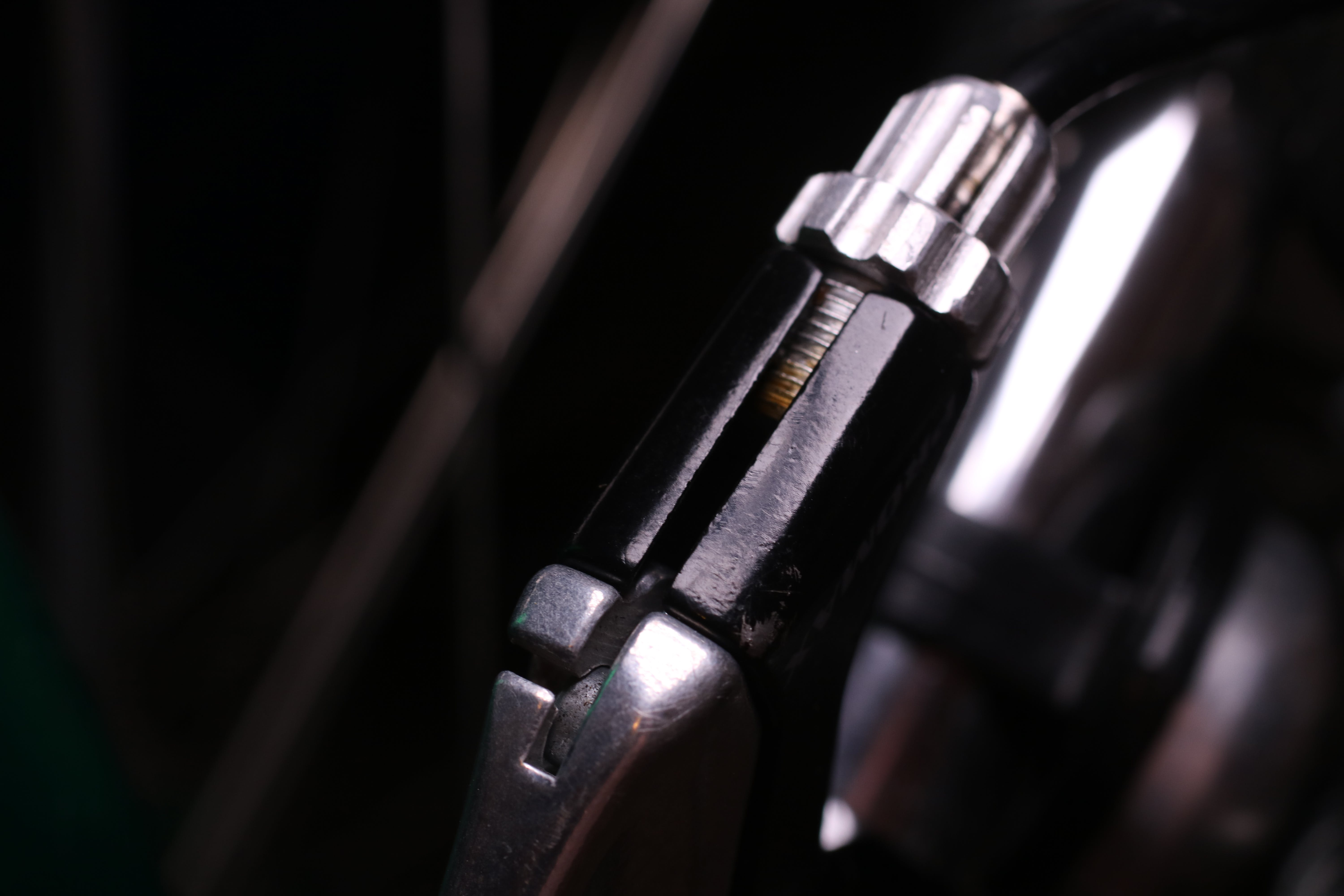 Free stock photo of bicycle, bicycle parts, black, close up