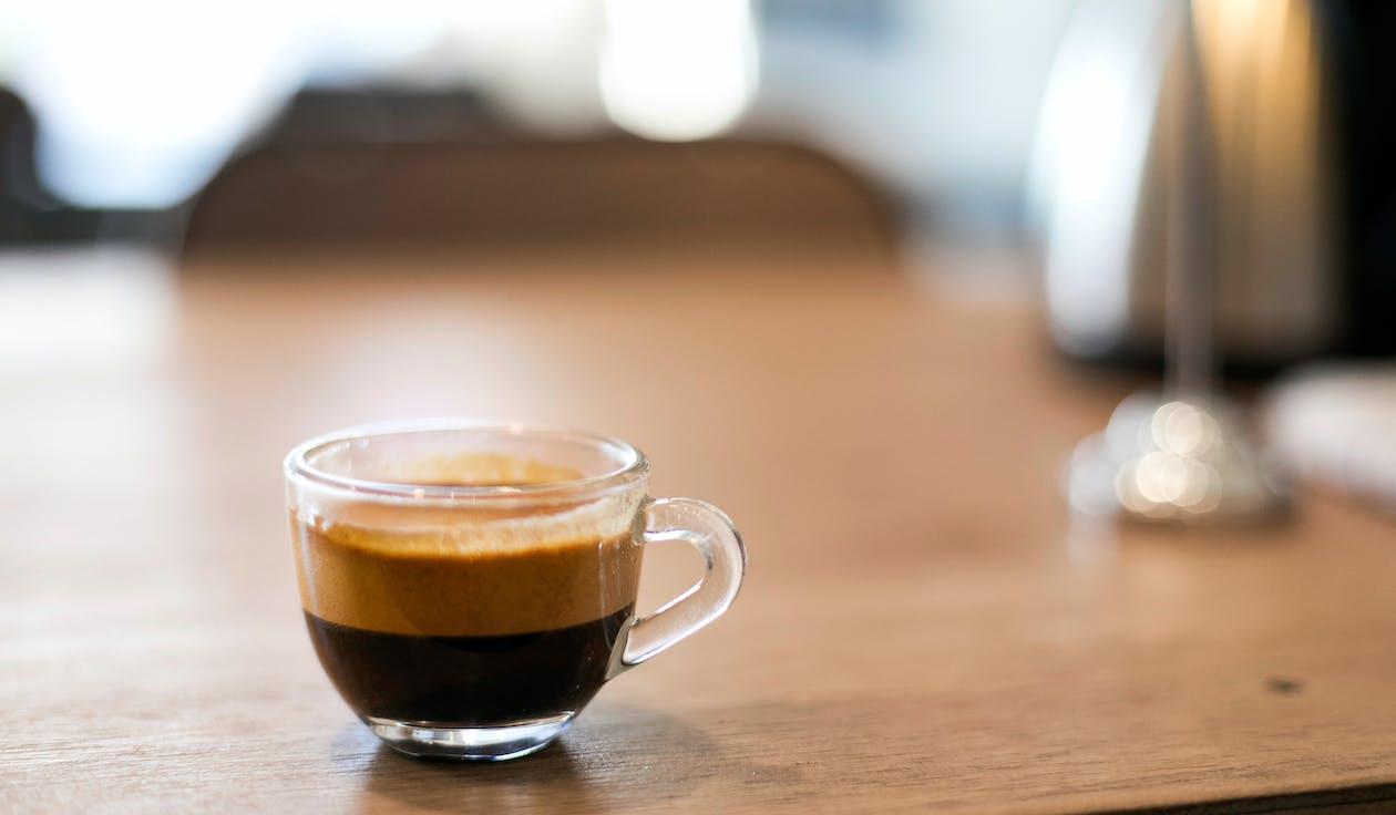 bardak, bir fincan kahve, cam