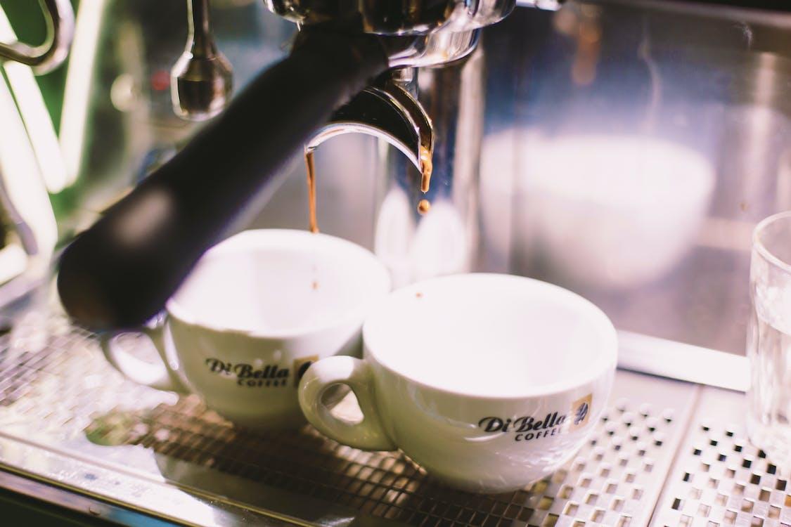 bir fincan kahve, cappuccino, çekici