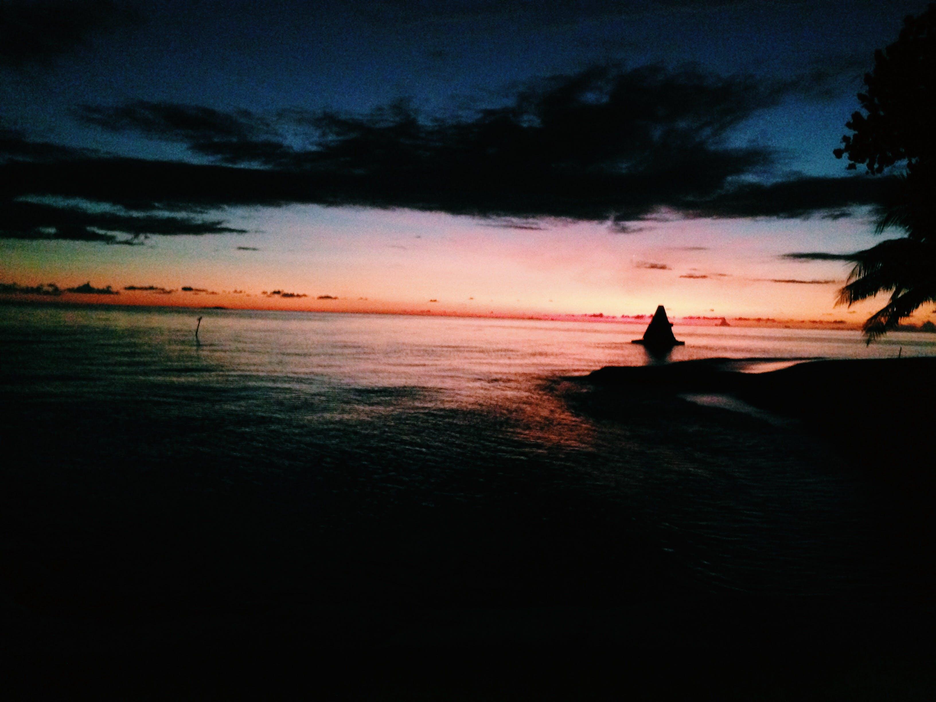 Free stock photo of cloud, maldives, nature, ocean