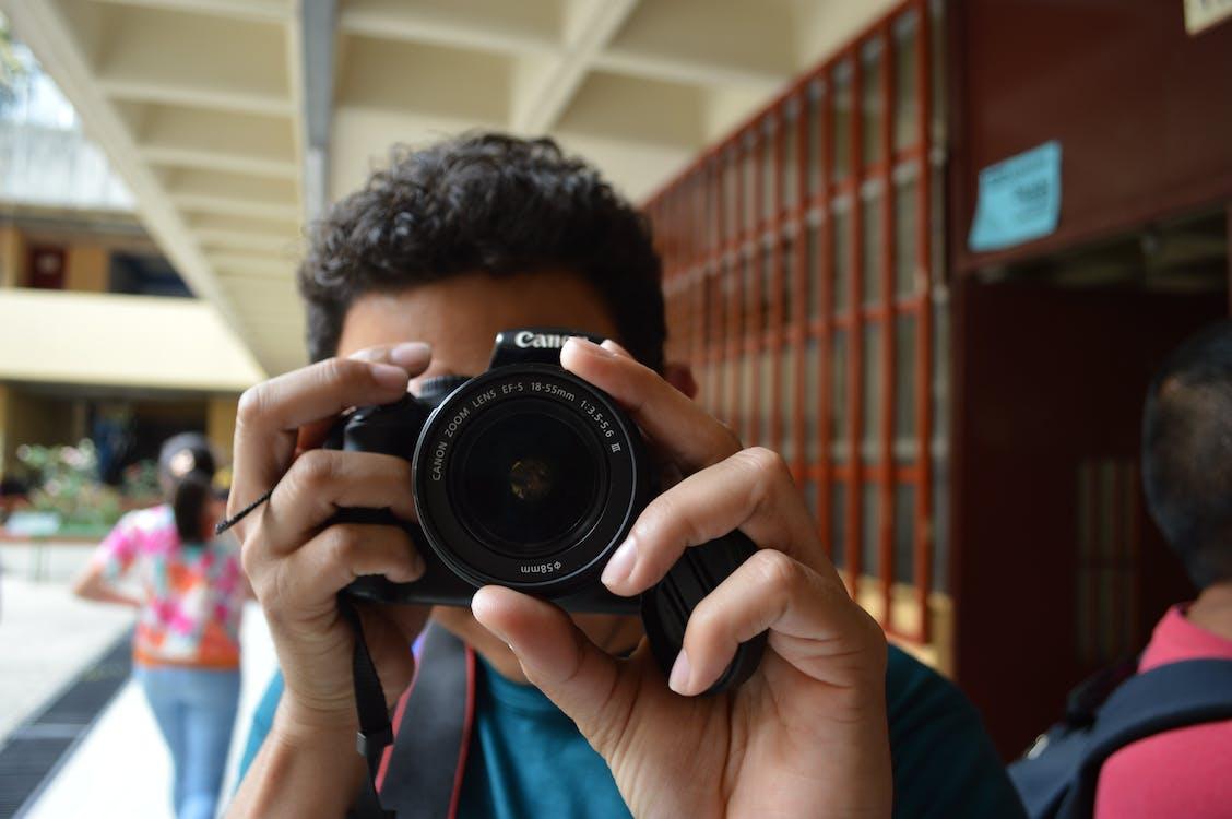 cámara, Canon, DSLR