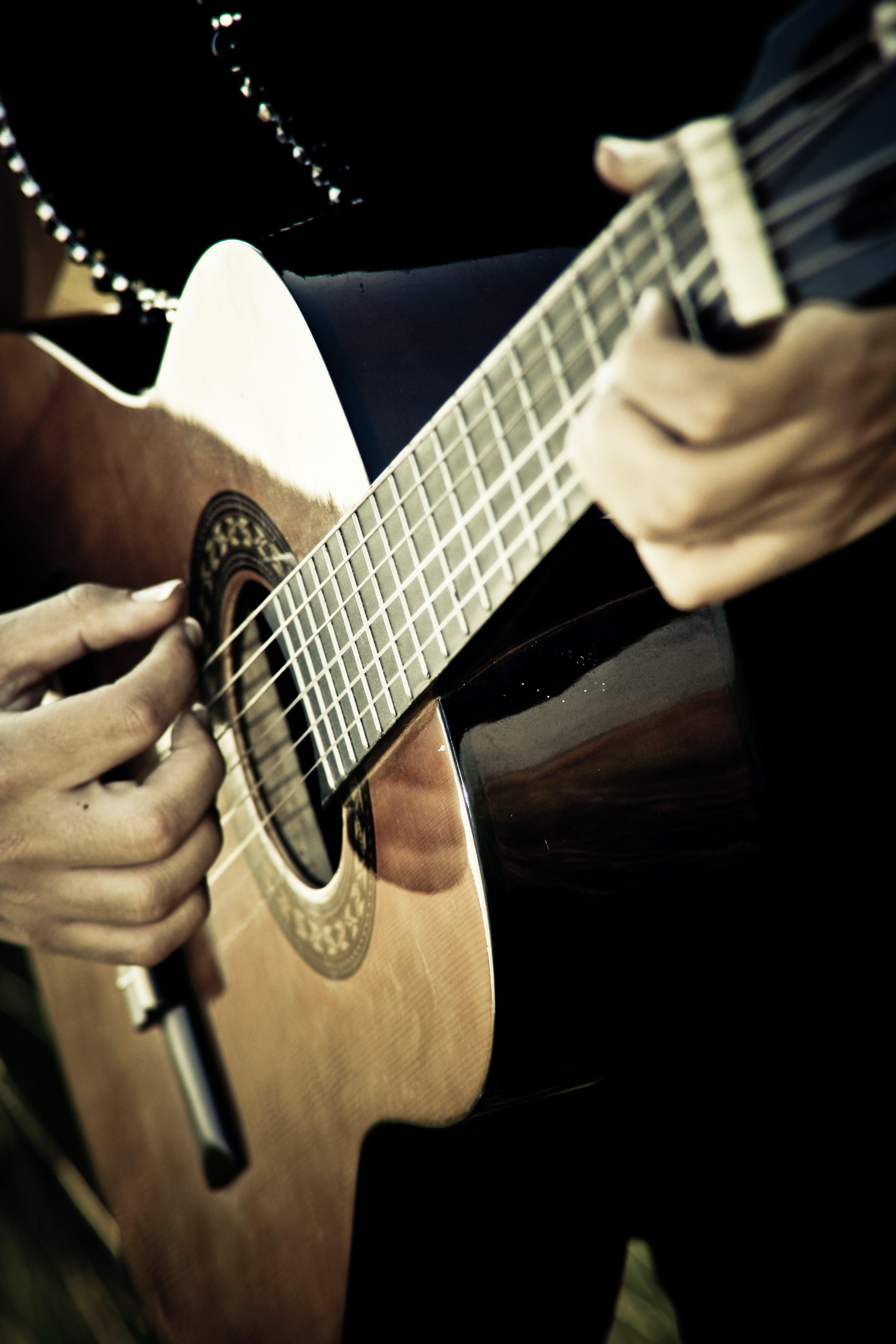 Free stock photo of acoustic guitar, box guitar, classical guitar, guitar
