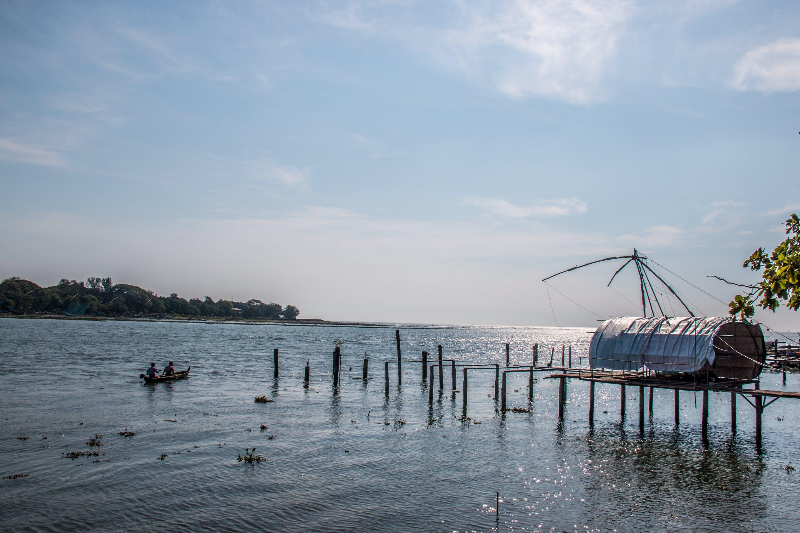 Free stock photo of #nature #kochi #sea #sky #fishing