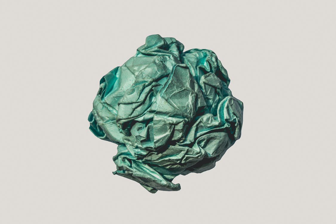 Green Wrapped Fabric