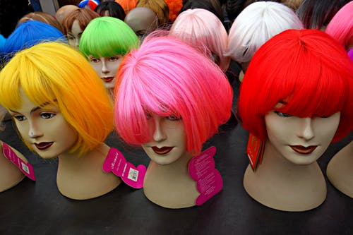 Free stock photo of beauty hair, doll, fashion, fluorescent colour
