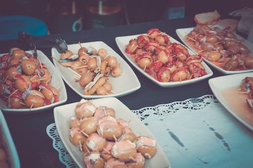 Imagine de stoc gratuită din alimente, Londra, mancare spaniola, măsline