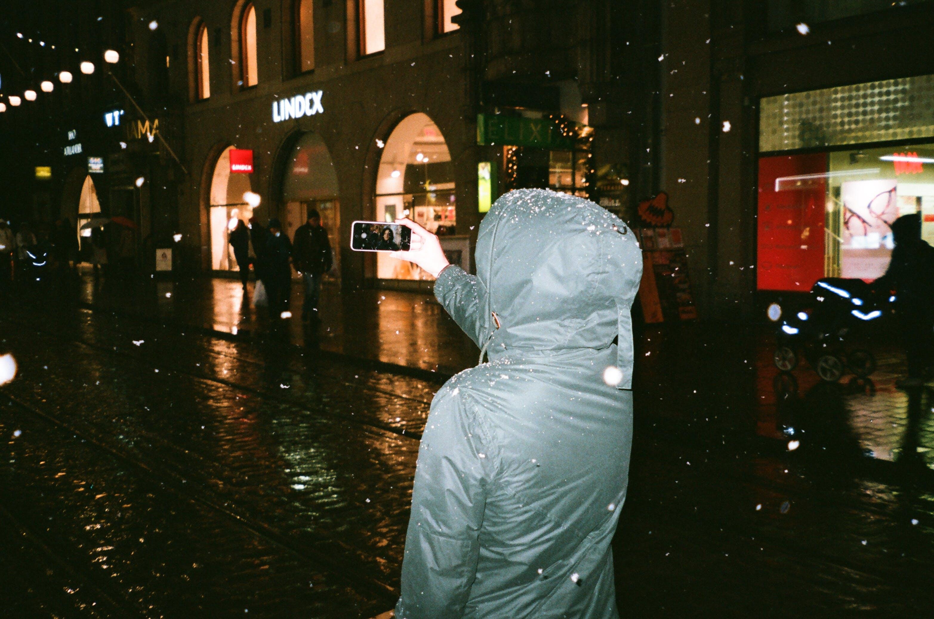 Free stock photo of 35mm, selfie