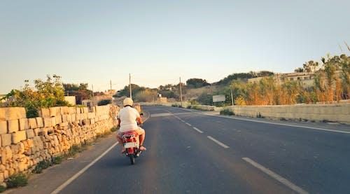 おとこ, オートバイ, スクーター, バイクの無料の写真素材