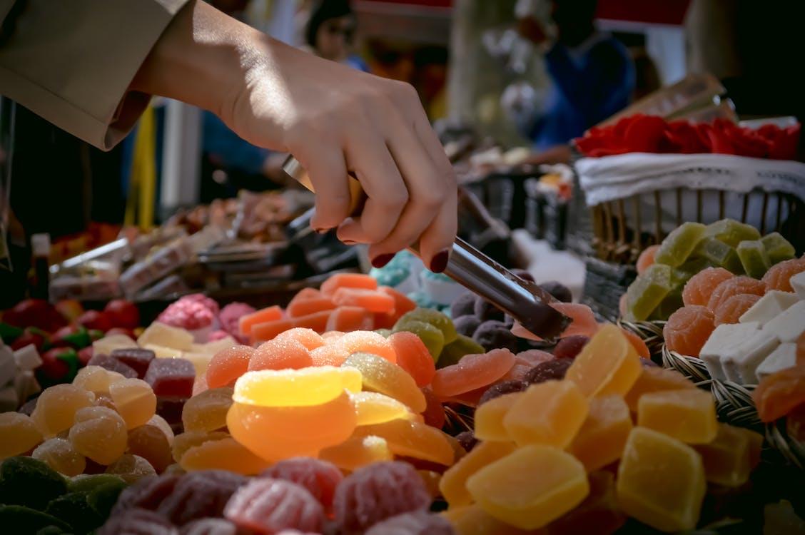 candy, food festival, food market