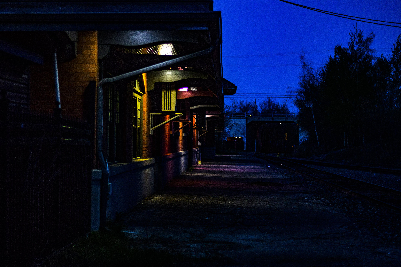 Kostenloses Stock Foto zu landschaft, beleuchtung, nacht, dunkel