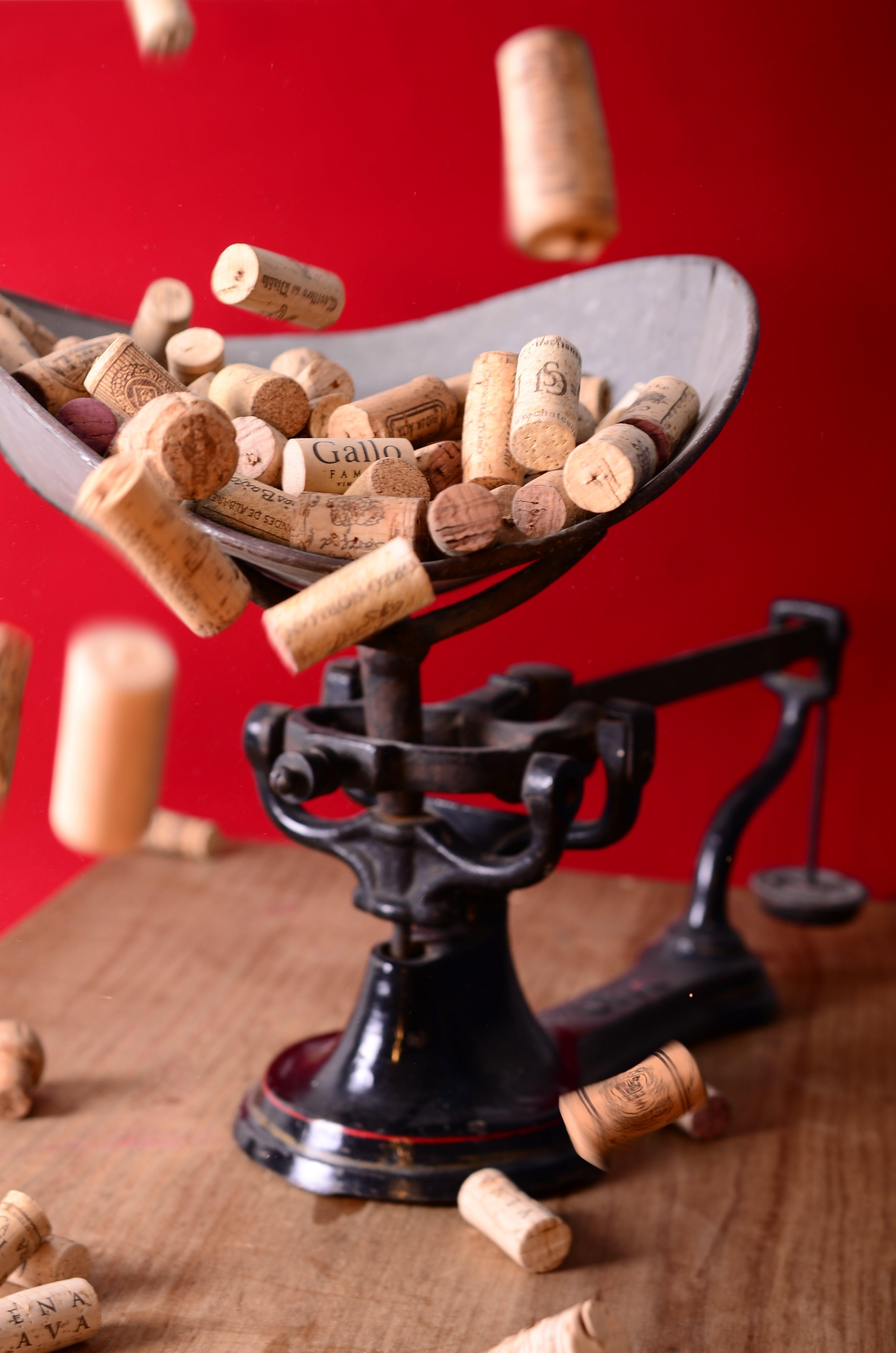 corks, wine