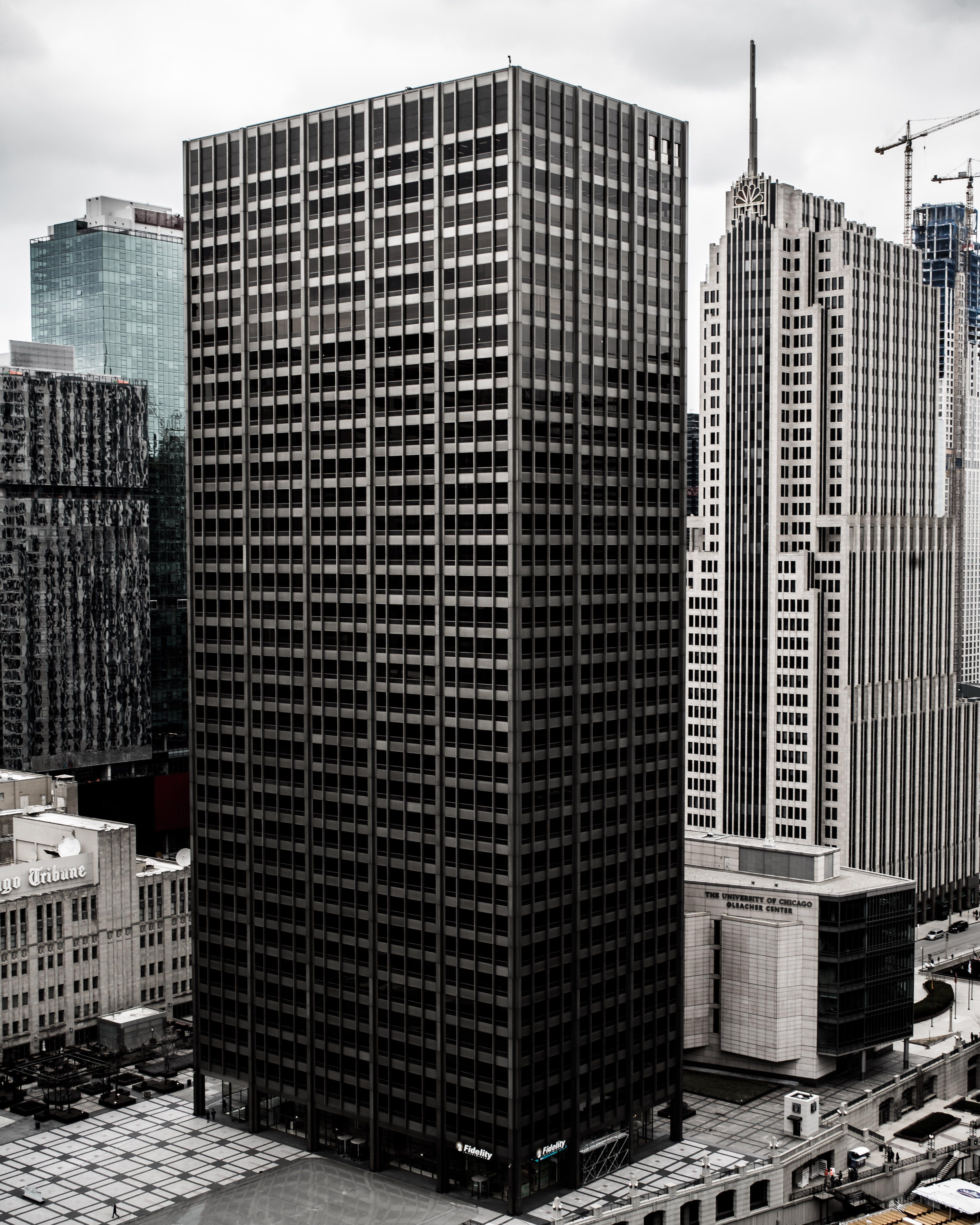 アパート, ガラス窓, シティ, スカイラインの無料の写真素材