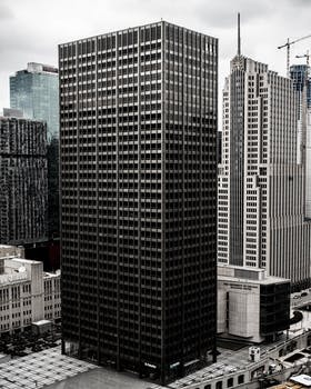 Kostenloses Foto Zum Thema Architektur Buro Fassade