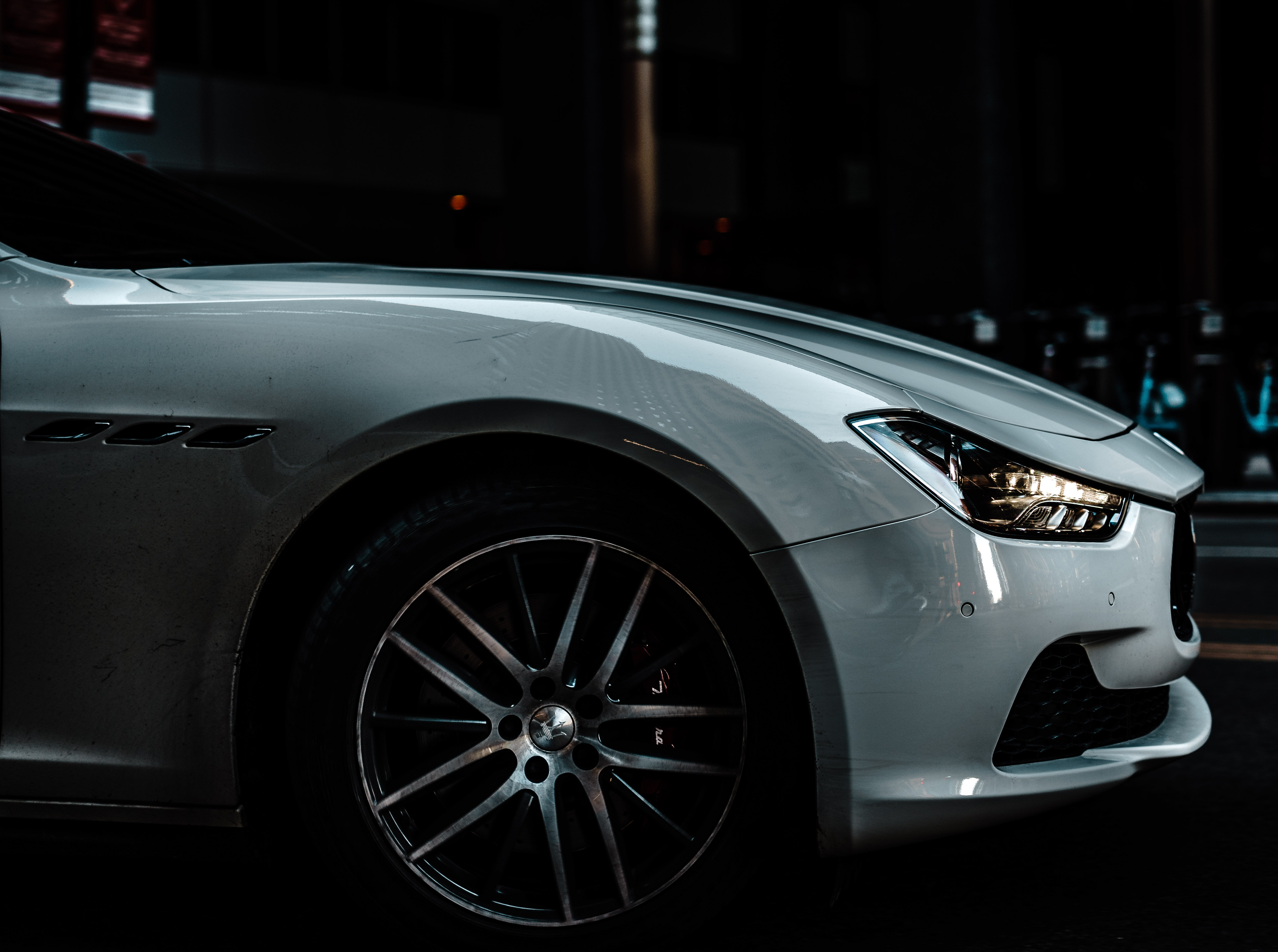 Car Photography Close Up