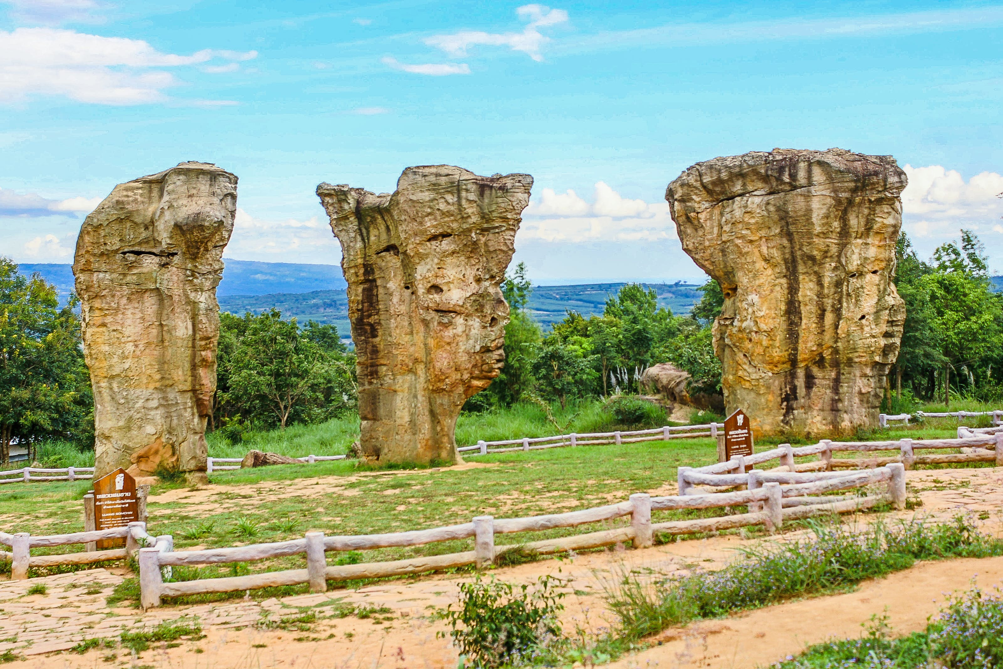 Elephant-shape Rock Formations