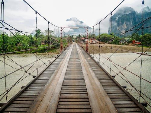 Бесплатное стоковое фото с Азия, архитектура, кабели, лаос
