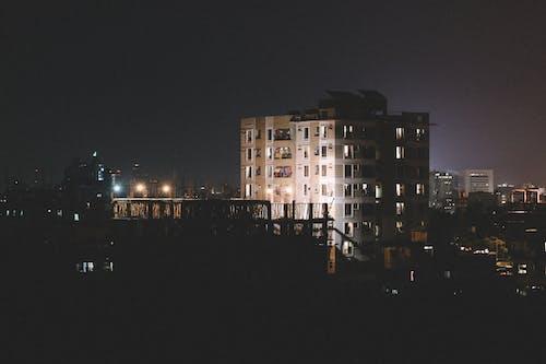 80 ties, 古城, 城市, 城市的燈光 的 免費圖庫相片