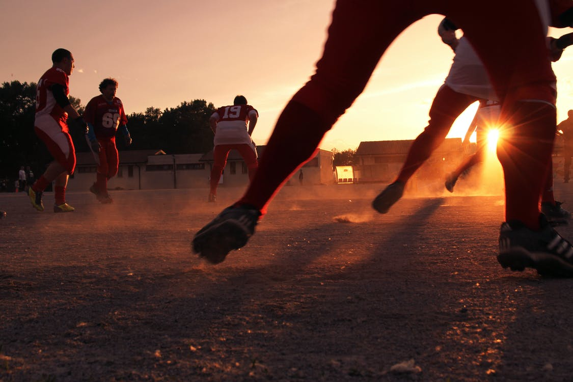 Free stock photo of american, competition, football