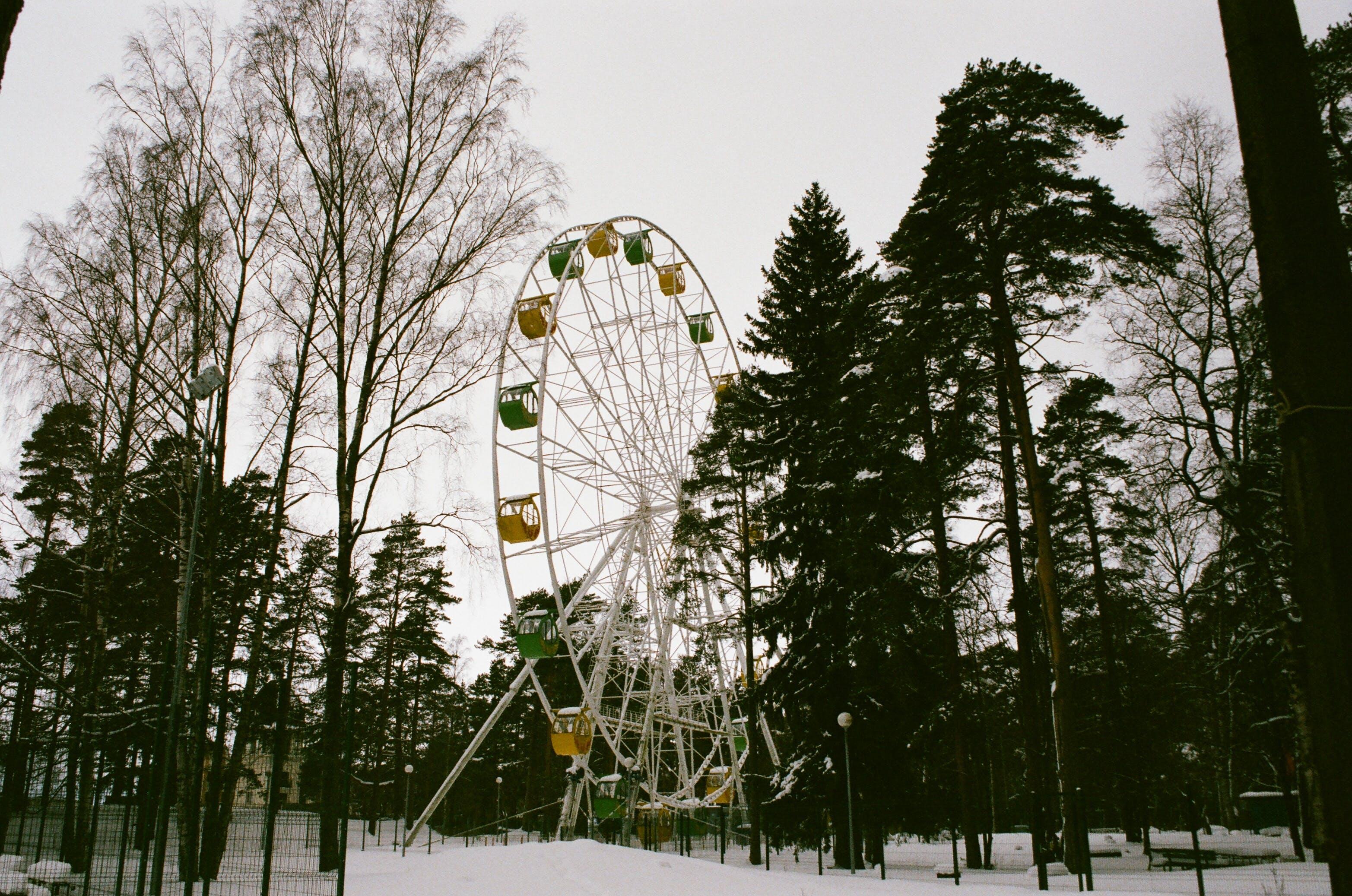 Ferris Wheel during Winter