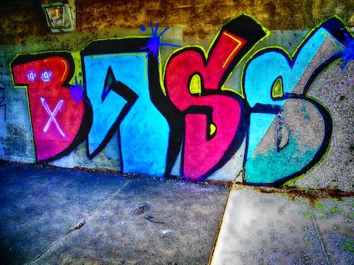 Gratis stockfoto met graffiti, kleur