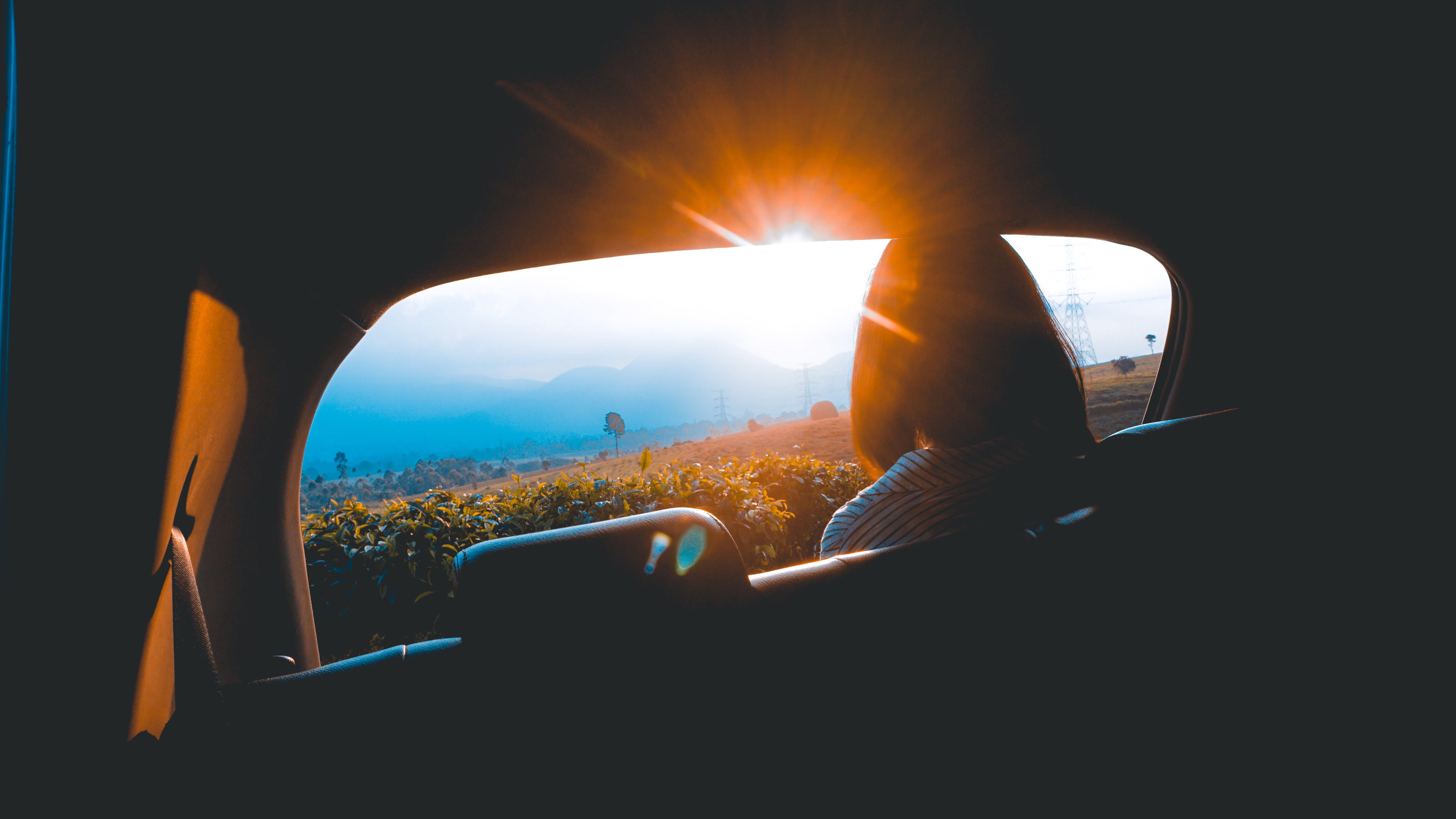 Free stock photo of golden hour, sun, sunset, traveling