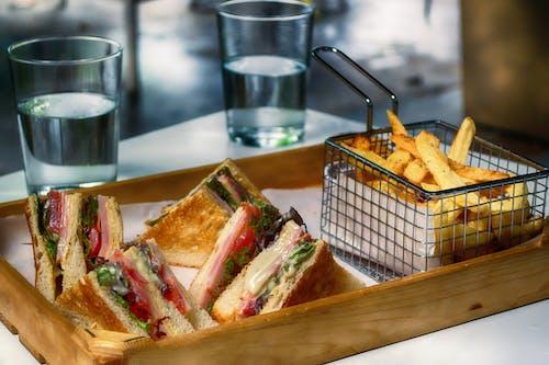 三明治, 乾杯, 可口, 可口的 的 免费素材照片