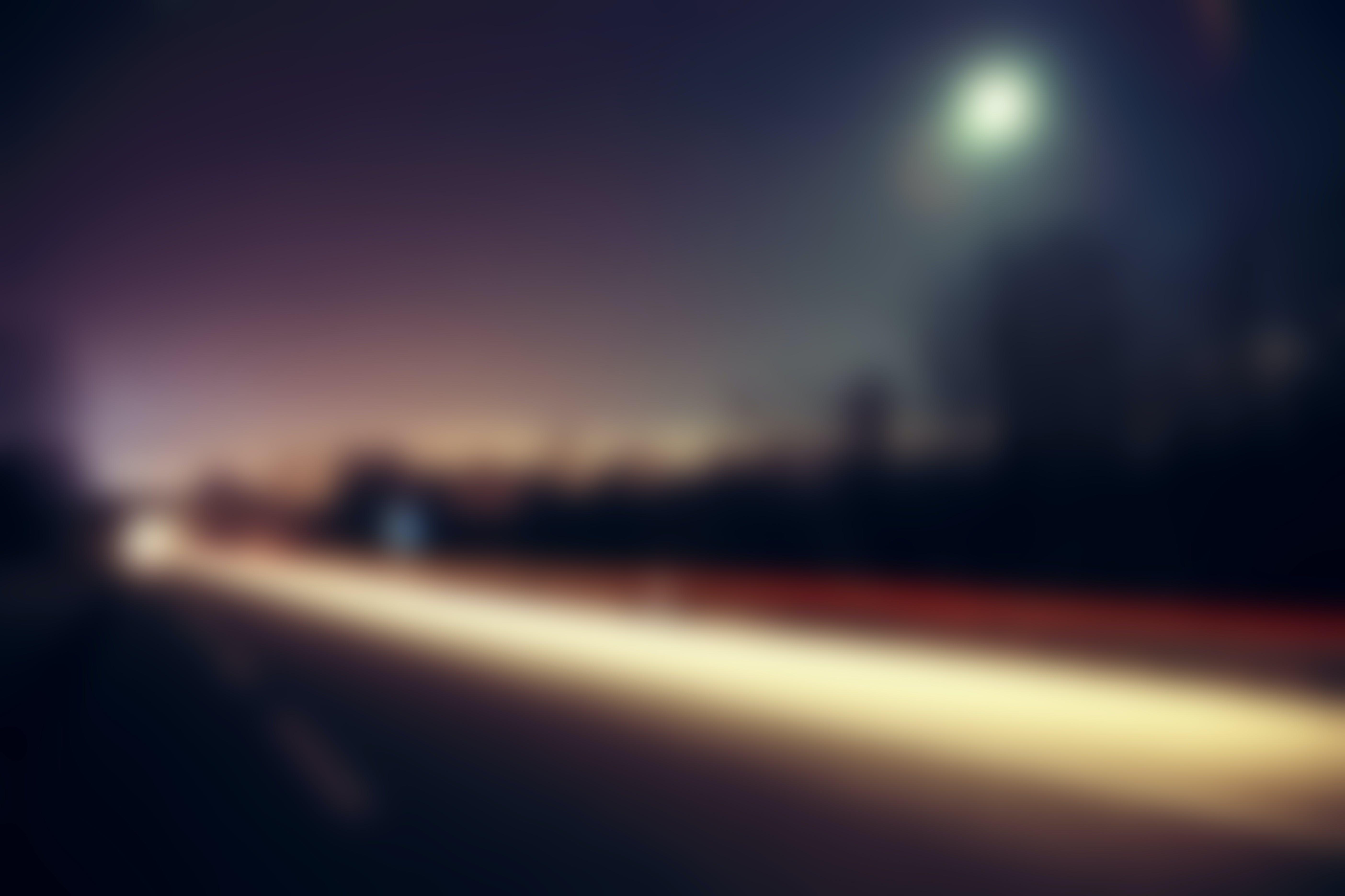 Free stock photo of road, street, blur, blurred