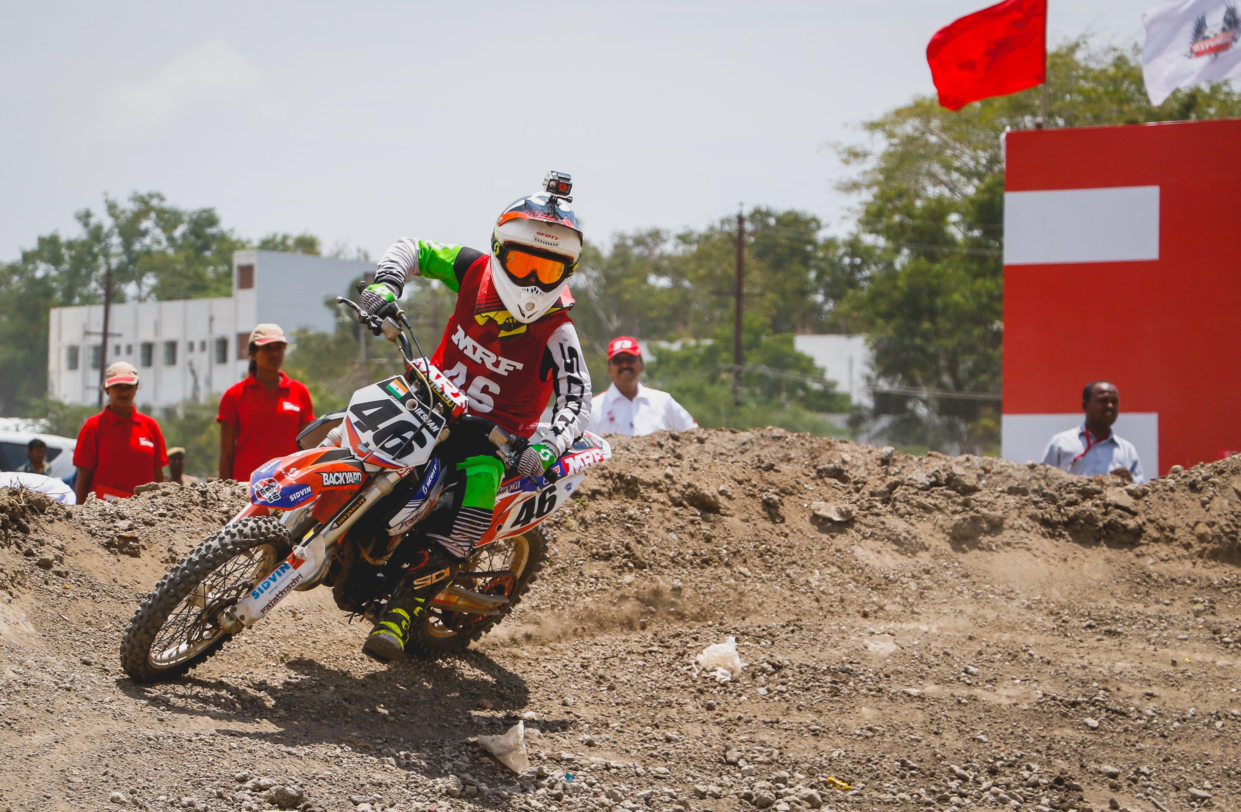 Free stock photo of action, bike racing, dirt, dirt bike