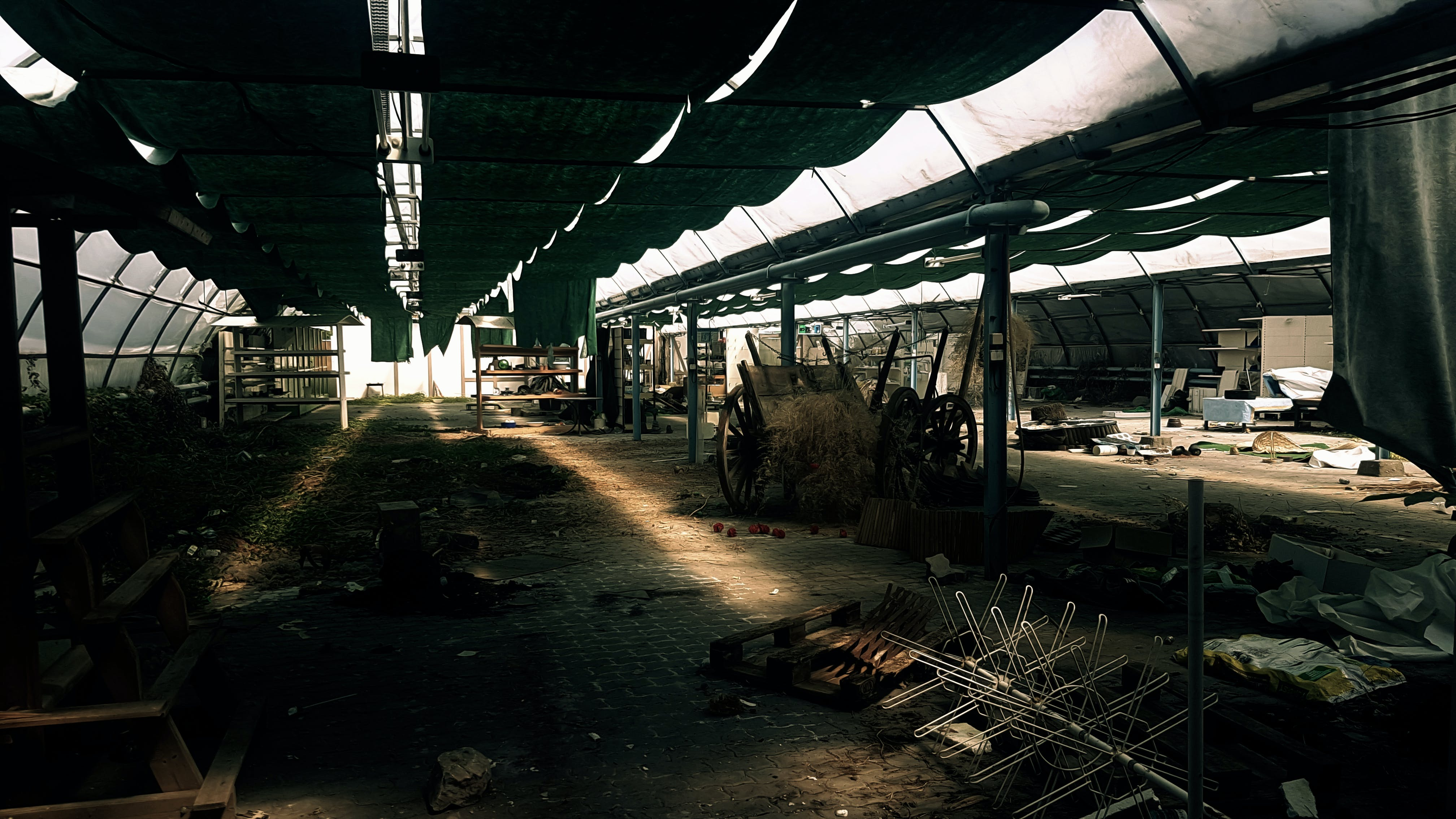 Free stock photo of destroyed, hobby, lost place, old