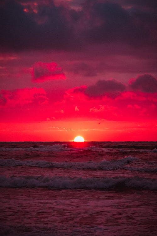 Fotos de stock gratuitas de agua, amanecer, belleza, cielo